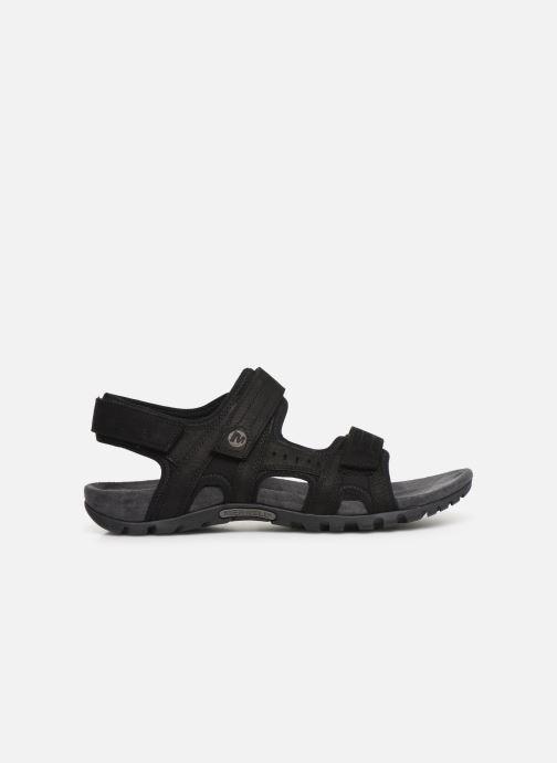 Sandales et nu-pieds Merrell Sandspur Lee Backstrap Noir vue derrière