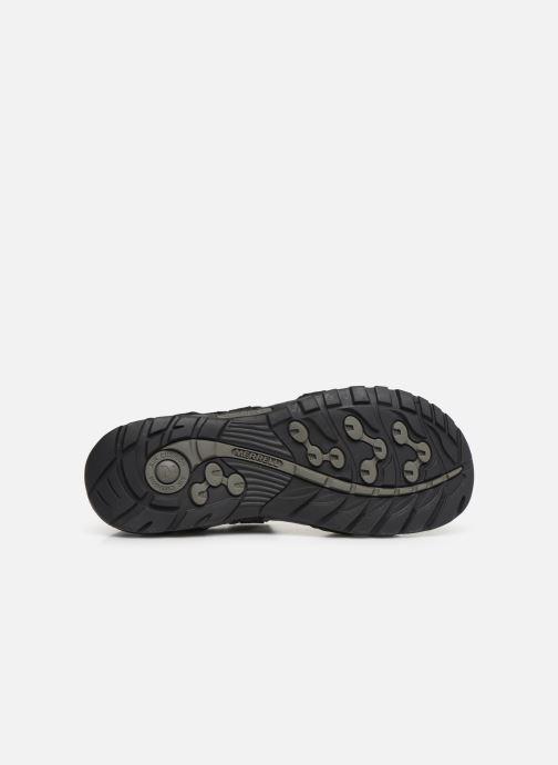 Sandales et nu-pieds Merrell Sandspur Lee Backstrap Noir vue haut