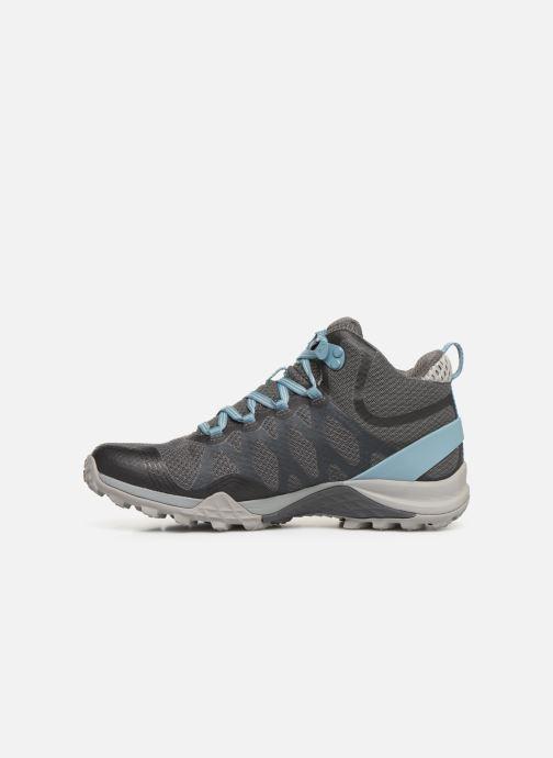 Chaussures de sport Merrell Siren 3 Mid Gtx Gris vue face