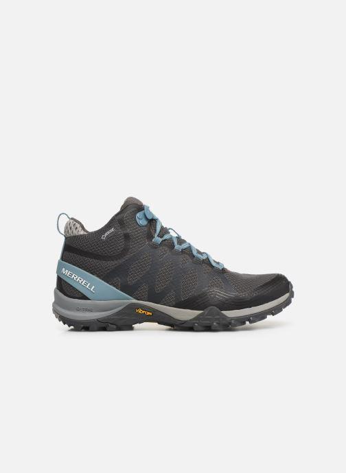 Chaussures de sport Merrell Siren 3 Mid Gtx Gris vue derrière