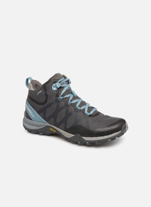 Chaussures de sport Merrell Siren 3 Mid Gtx Gris vue détail/paire