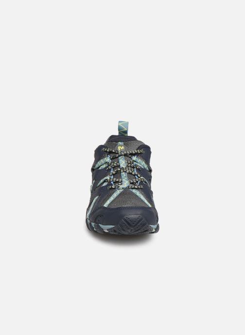 Chaussures de sport Merrell Waterpro Maipo 2 Bleu vue portées chaussures