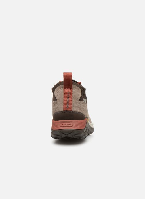 Sport shoes Merrell Jungle Mid Xx Wp Ac+ Beige view from the right