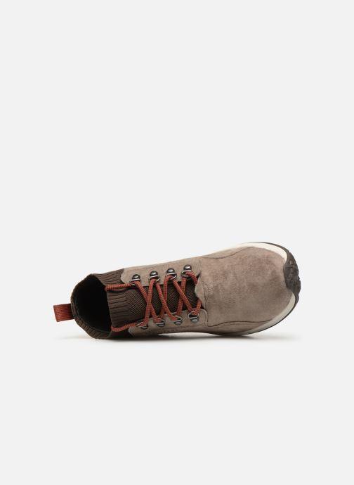 Zapatillas de deporte Merrell Jungle Mid Xx Wp Ac+ Beige vista lateral izquierda