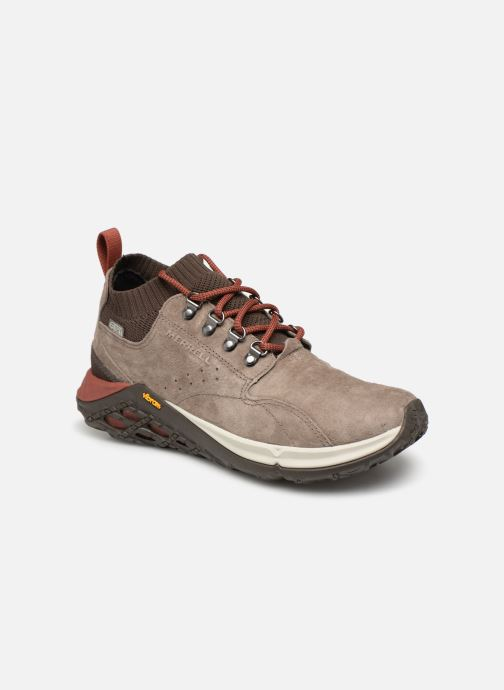 Sport shoes Merrell Jungle Mid Xx Wp Ac+ Beige detailed view/ Pair view