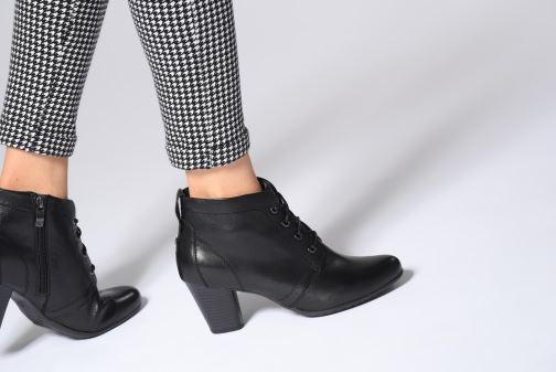Bottines et boots Be Natural 25106 Noir vue bas / vue portée sac