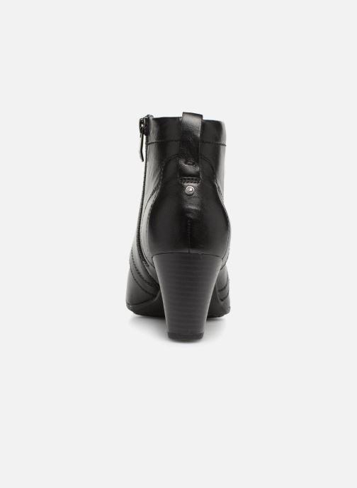 Bottines et boots Be Natural 25106 Noir vue droite