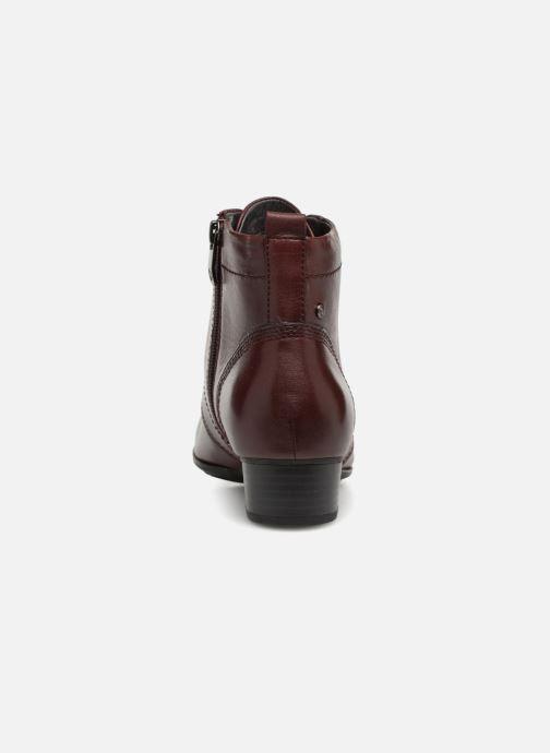 Bottines et boots Be Natural 25107 Bordeaux vue droite