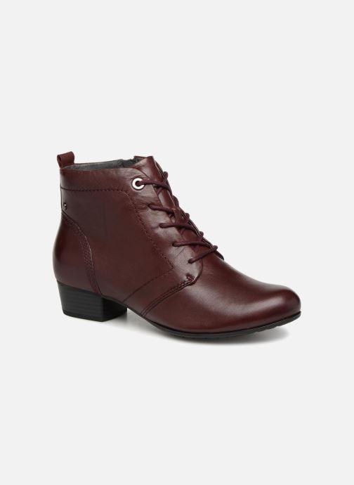 Bottines et boots Be Natural 25107 Bordeaux vue détail/paire