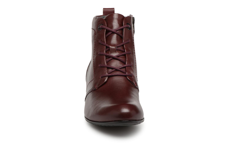 Bottines et boots Be Natural 25107 Bordeaux vue portées chaussures