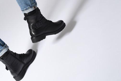 Bottines et boots Be Natural 25215 Noir vue bas / vue portée sac