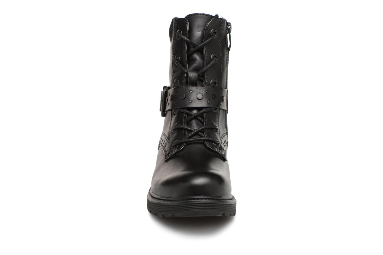Bottines et boots Be Natural 25215 Noir vue portées chaussures