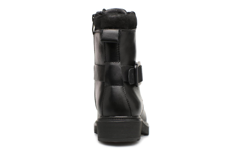 Bottines et boots Be Natural 25215 Noir vue droite