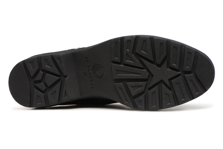 Bottines et boots Be Natural 25215 Noir vue haut