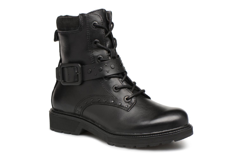 Bottines et boots Be Natural 25215 Noir vue détail/paire