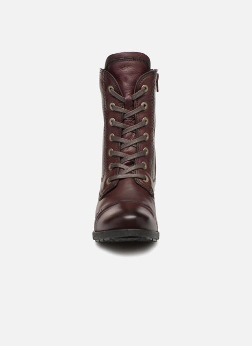 Bottines et boots Be Natural 25228 Bordeaux vue portées chaussures