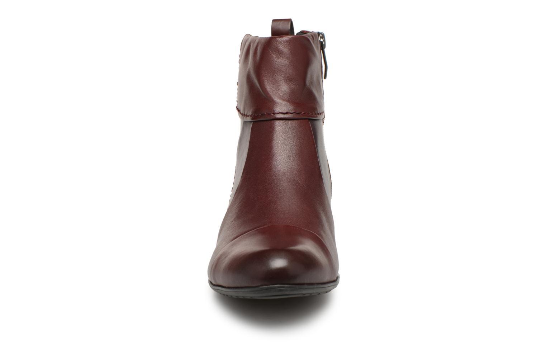 Bottines et boots Be Natural 25315 Bordeaux vue portées chaussures