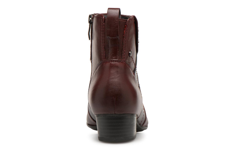Bottines et boots Be Natural 25315 Bordeaux vue droite