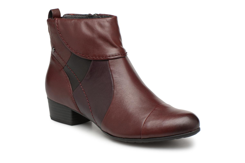 Bottines et boots Be Natural 25315 Bordeaux vue détail/paire