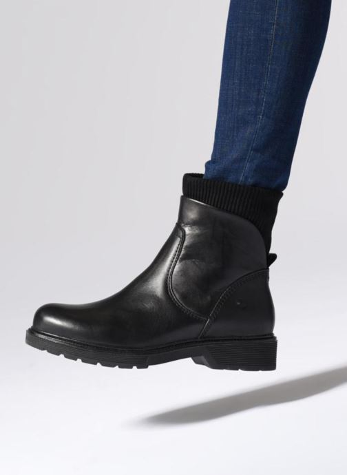 Boots en enkellaarsjes Be Natural 25406 Zwart onder