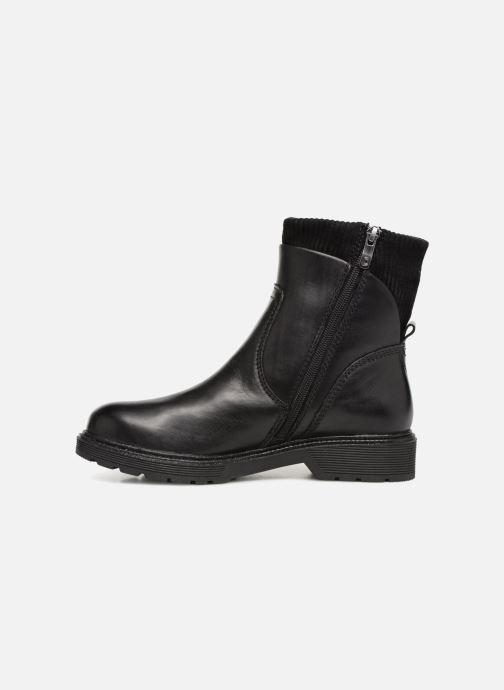 Boots en enkellaarsjes Be Natural 25406 Zwart voorkant
