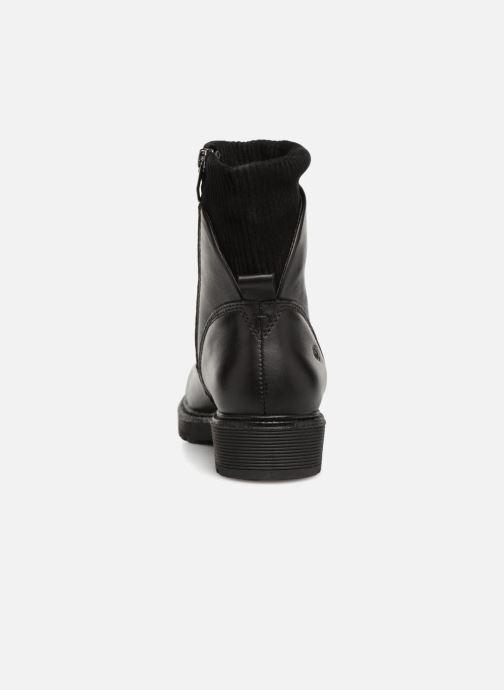 Boots en enkellaarsjes Be Natural 25406 Zwart rechts
