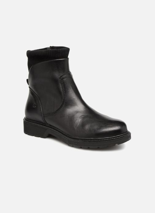 Boots en enkellaarsjes Be Natural 25406 Zwart detail