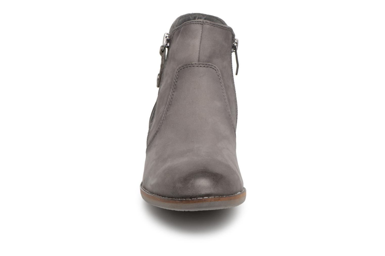 Bottines et boots Be Natural 25409 Gris vue portées chaussures