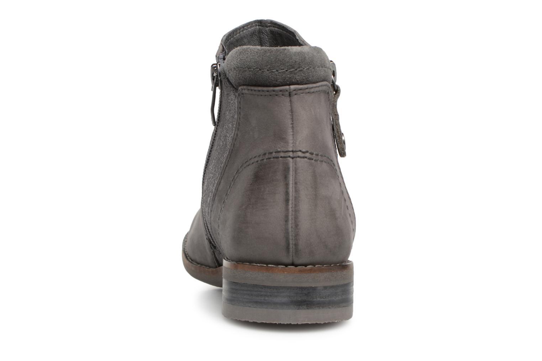 Bottines et boots Be Natural 25409 Gris vue droite