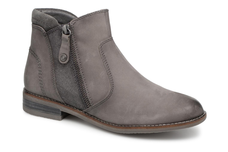 Bottines et boots Be Natural 25409 Gris vue détail/paire