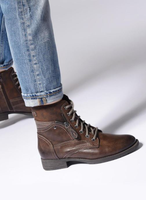 Boots en enkellaarsjes Jana shoes Susina 25217 Bruin onder