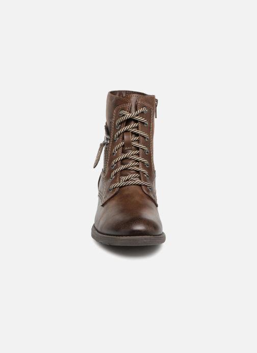 Boots en enkellaarsjes Jana shoes Susina 25217 Bruin model