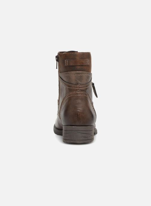 Boots en enkellaarsjes Jana shoes Susina 25217 Bruin rechts