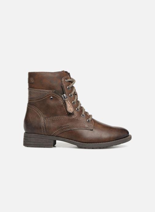 Boots en enkellaarsjes Jana shoes Susina 25217 Bruin achterkant