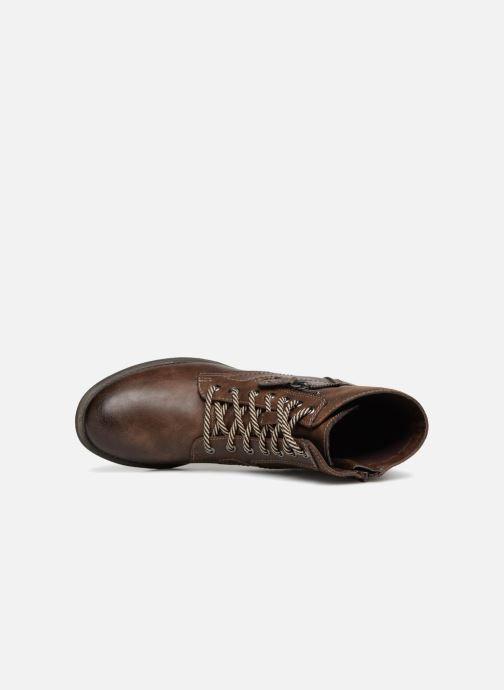 Boots en enkellaarsjes Jana shoes Susina 25217 Bruin links