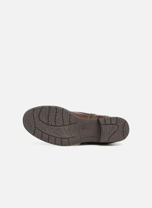 Boots en enkellaarsjes Jana shoes Susina 25217 Bruin boven