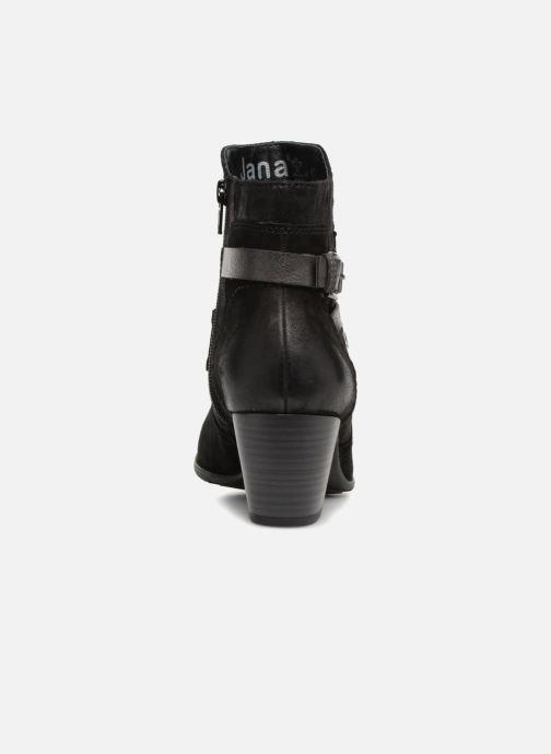 Bottines et boots Jana shoes MurrayR Noir vue droite