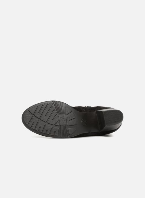 Bottines et boots Jana shoes MurrayR Noir vue haut