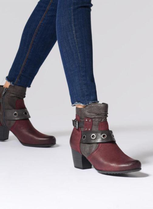Bottines et boots Jana shoes MurrayR Marron vue bas / vue portée sac