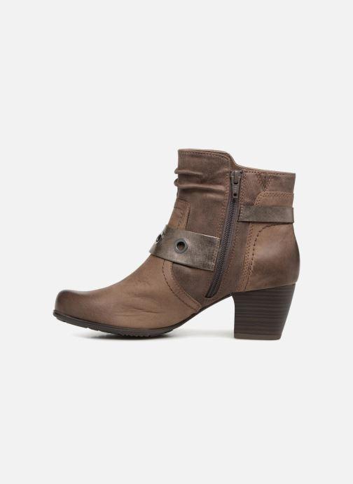 Bottines et boots Jana shoes MurrayR Marron vue face