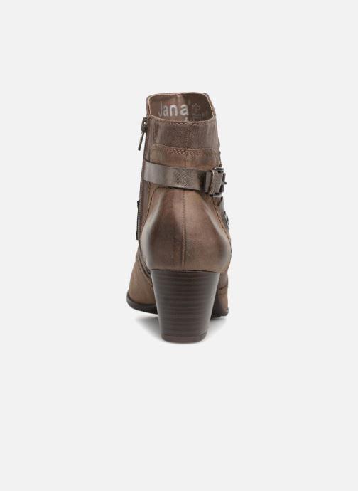 Bottines et boots Jana shoes MurrayR Marron vue droite