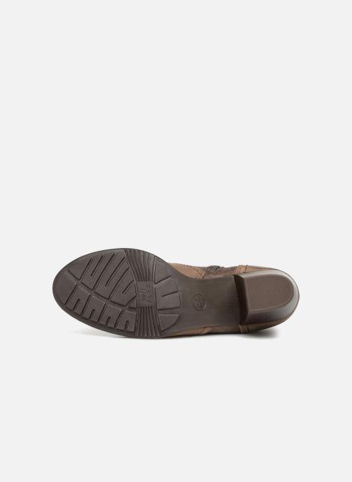 Bottines et boots Jana shoes MurrayR Marron vue haut