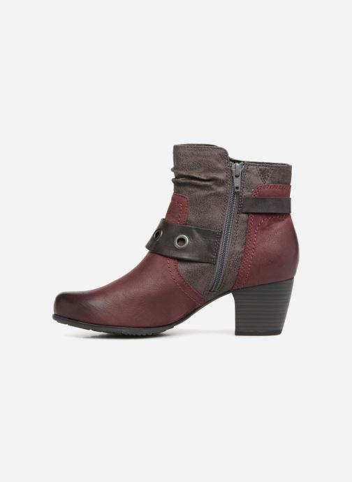 Bottines et boots Jana shoes MurrayR Bordeaux vue face
