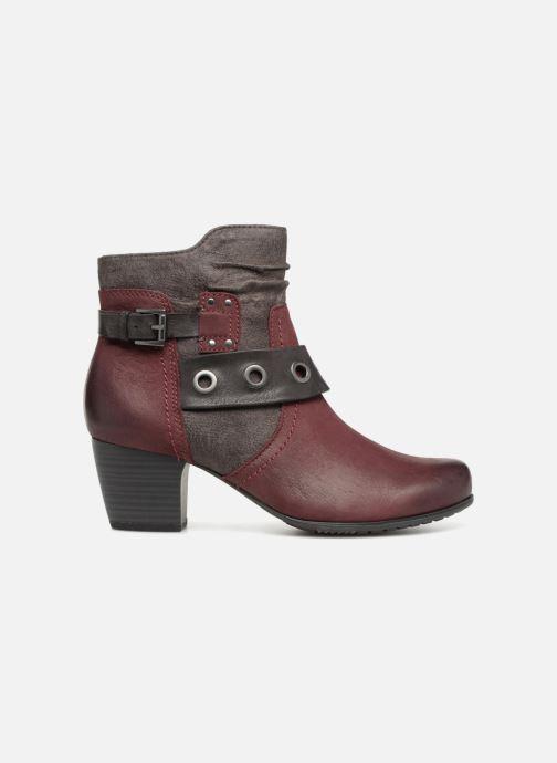 Stivaletti e tronchetti Jana shoes MurrayR Bordò immagine posteriore
