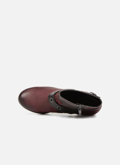 Bottines et boots Jana shoes MurrayR Bordeaux vue gauche