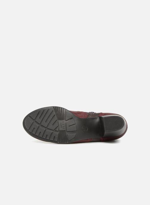 Bottines et boots Jana shoes MurrayR Bordeaux vue haut