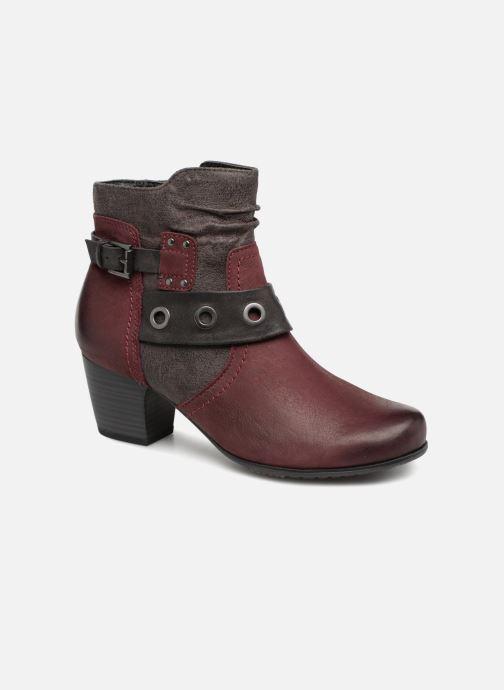 Bottines et boots Jana shoes MurrayR Bordeaux vue détail/paire
