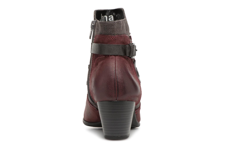 Stivaletti e tronchetti Jana shoes MurrayR Bordò immagine destra