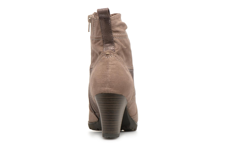Stivaletti e tronchetti Jana shoes Lander 25374 Beige immagine destra