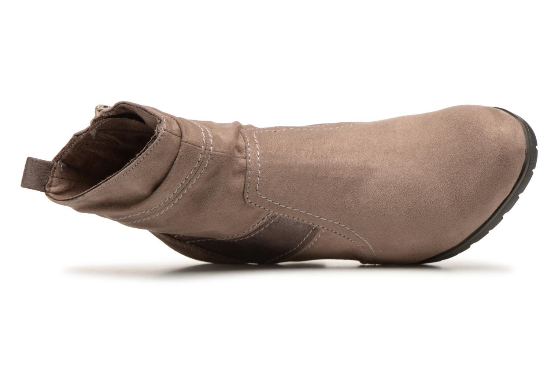 Stivaletti e tronchetti Jana shoes Lander 25374 Beige immagine sinistra
